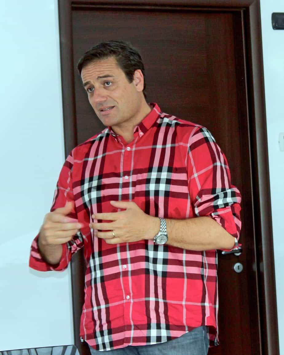 Corrado Bocci della PAV.i. spiega le motivazioni che hanno portato l'azienda di famiglia all'acquisto delle finitrici Sumitomo