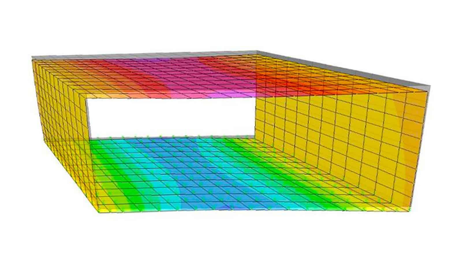 L'analisi strutturale della struttura monolitica tridimensionale