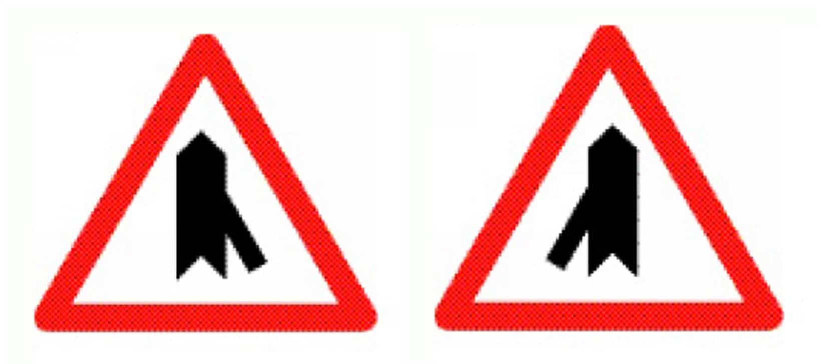 I segnali di entrata da destra e da sinistra, corrispondenti agli italici segnali di confluenza, scompariranno dalle strade svizzere