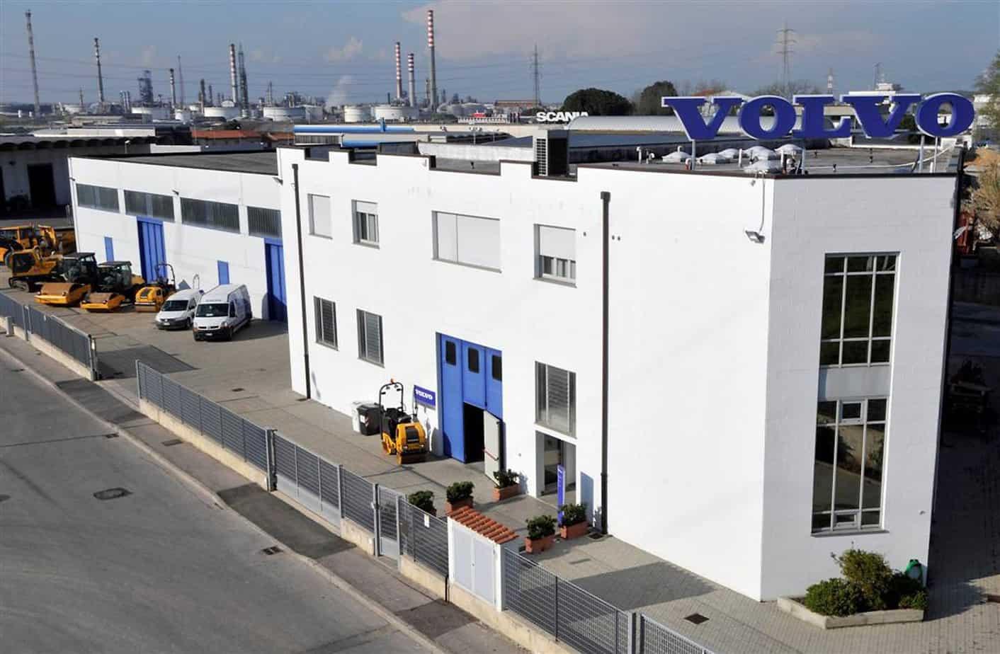 La filiale Livorno di Volvo CE Italia