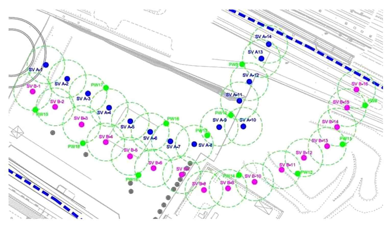La mappatura della presenza di gas