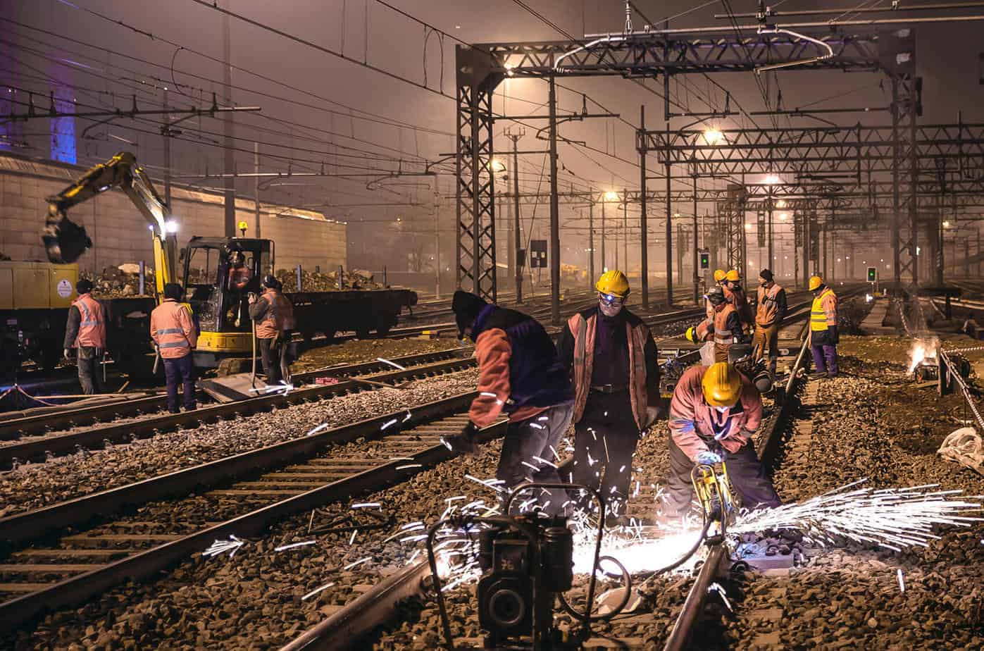 Lavorazioni in notturna in area RFI
