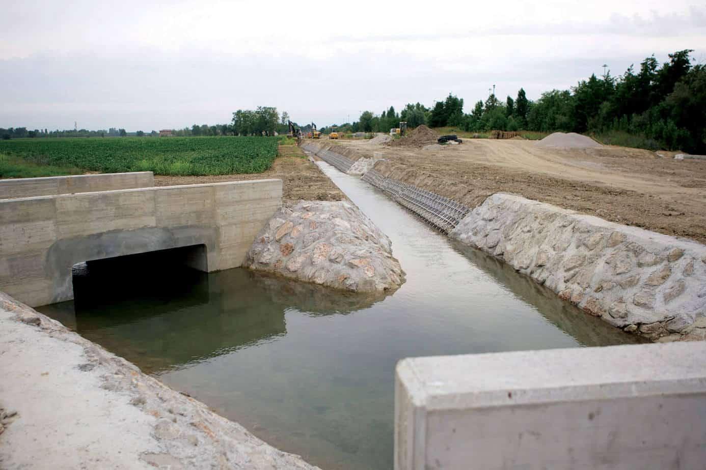 La nuova regimazione idraulica dei canali consortili