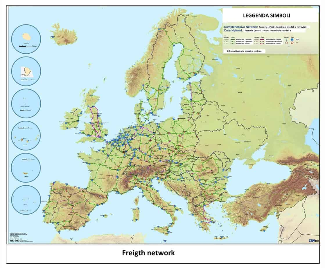 Lo European Transport Network Passengers and Freight