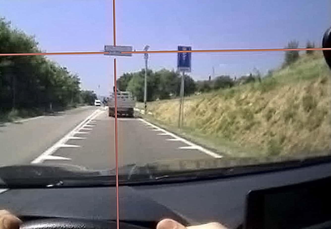 Il criterio seguito per scegliere se un segnale verticale è stato visto