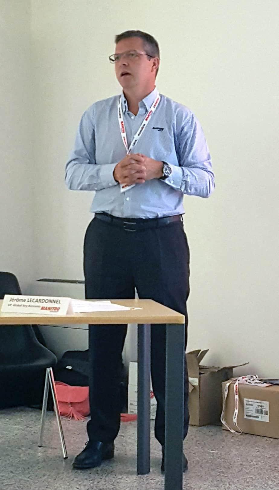 Jerome Lecardonnel, VP Global Key Account