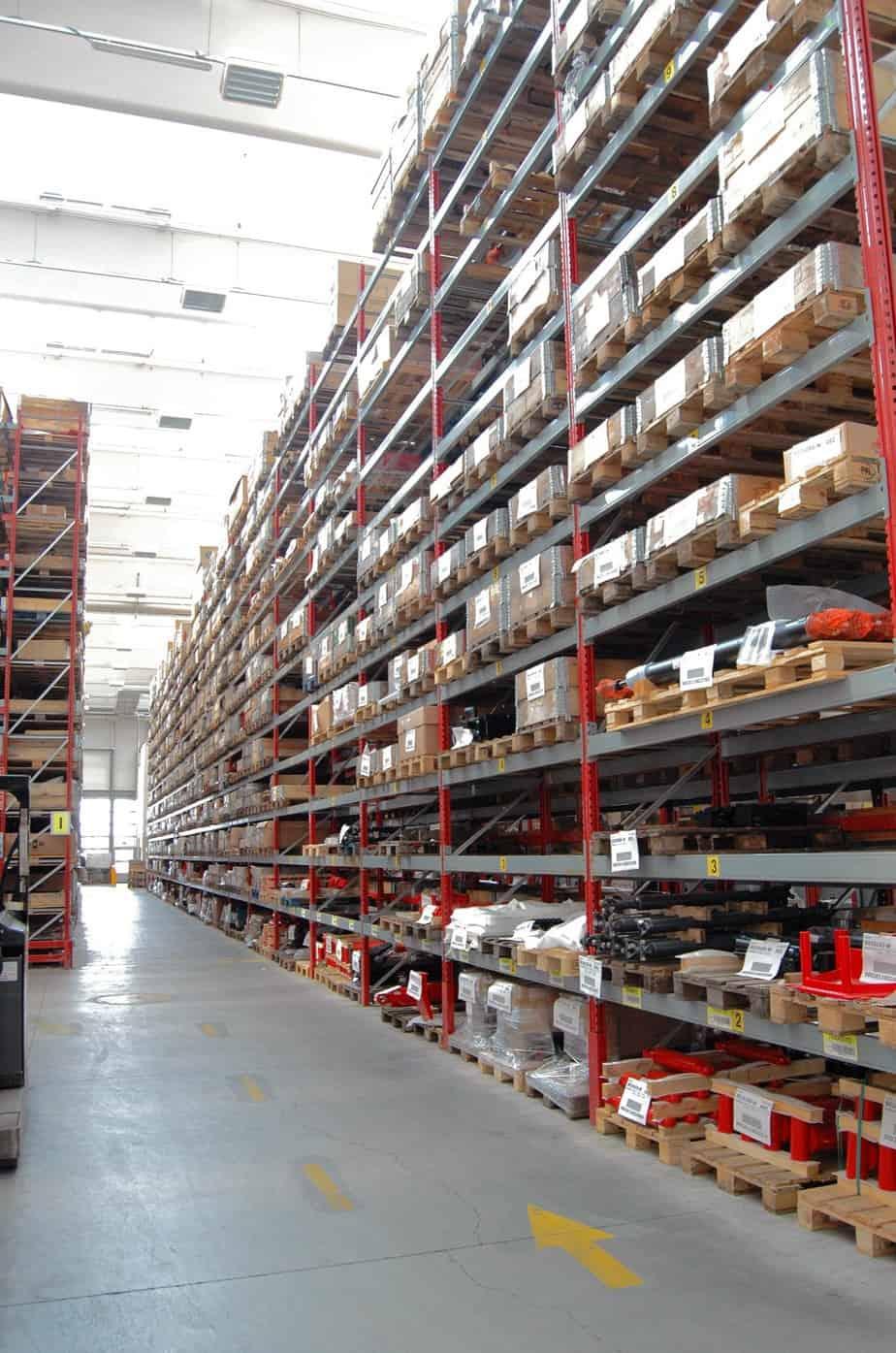 I magazzini di stoccaggio