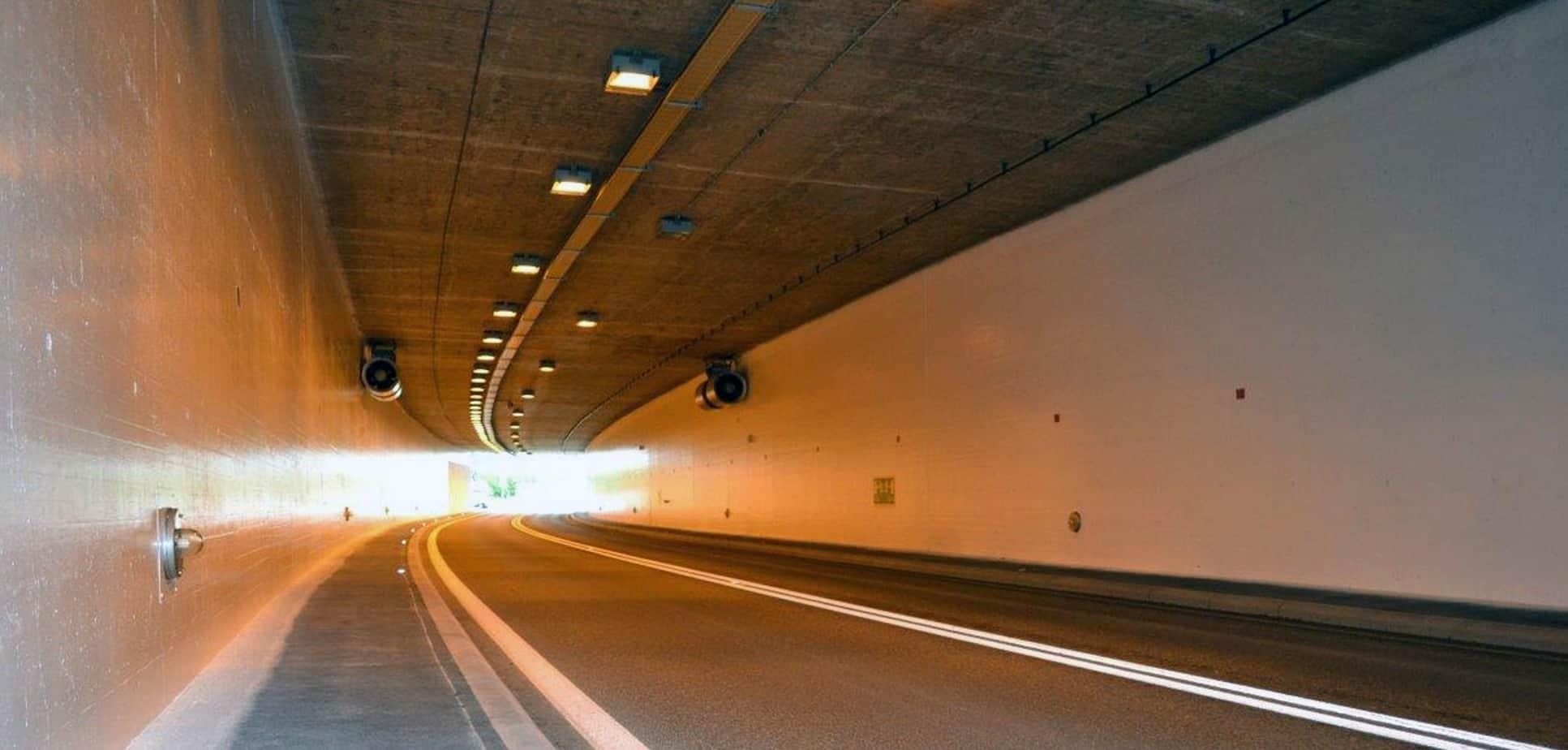 Il risultato finale presso il tunnel Cheseaux