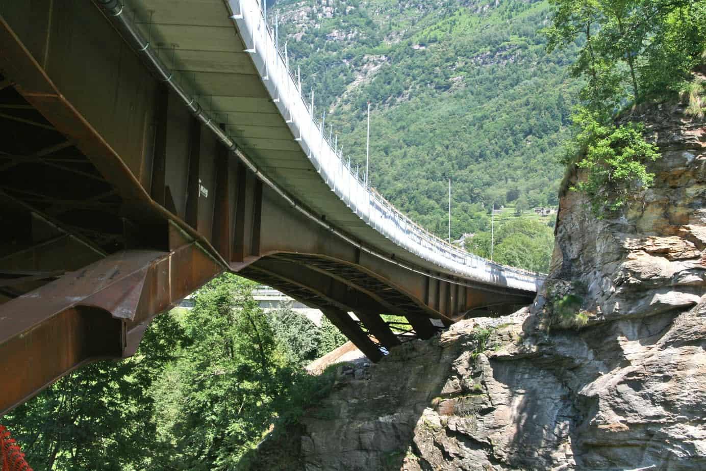 Vista generale del ponte