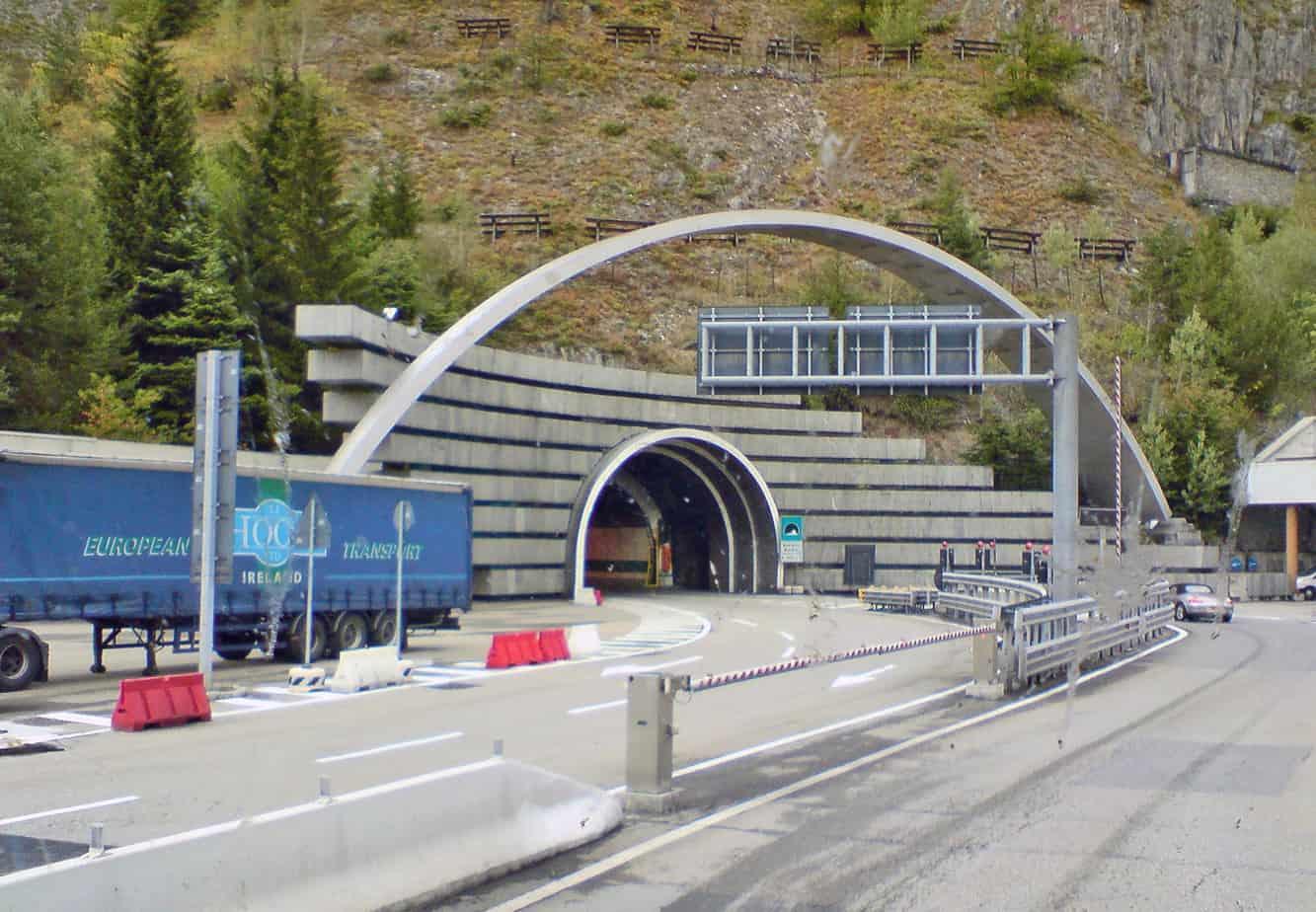 L'accesso al Monte Bianco
