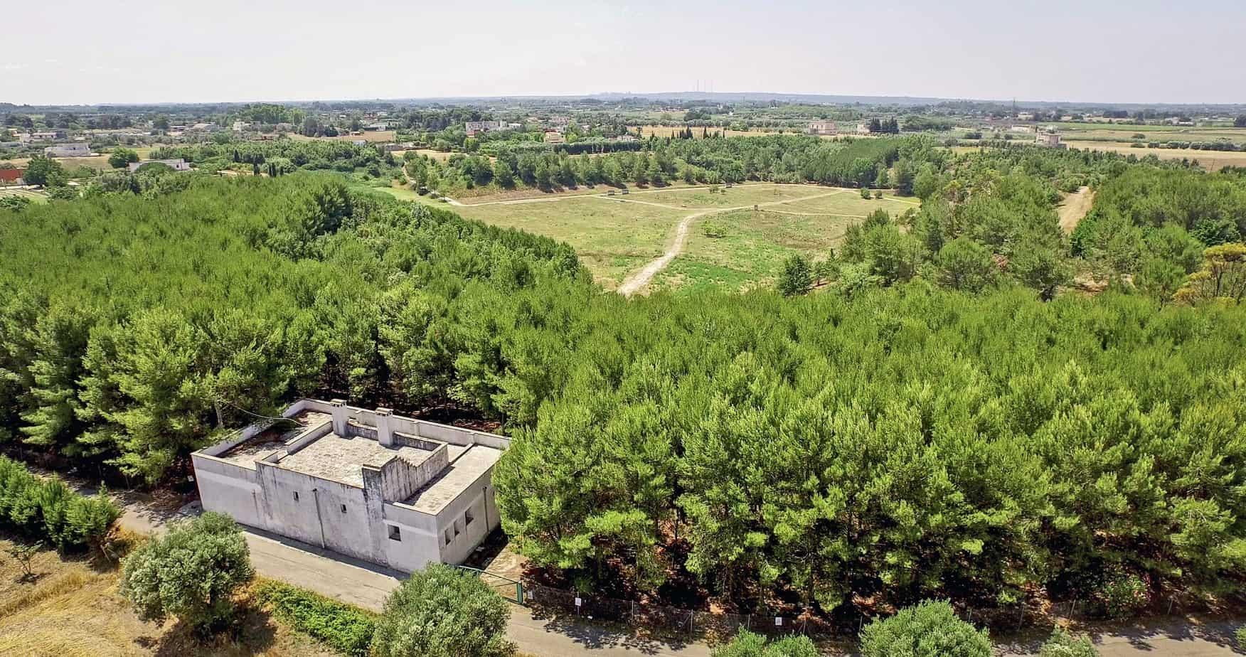 Il recupero del parco di Lustrelle con la messa a dimora di 8.000 alberi e il Museo Malacologico delle Argille