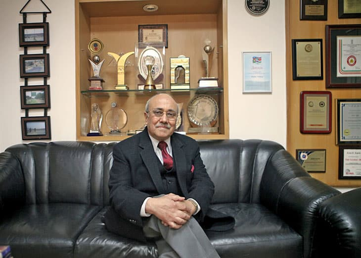 Il Presidente Kapila