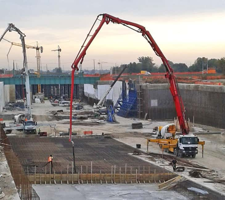 Il cantiere TEEM