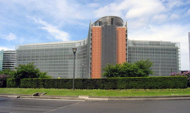 La sede della Commissione Europea a Bruxelles
