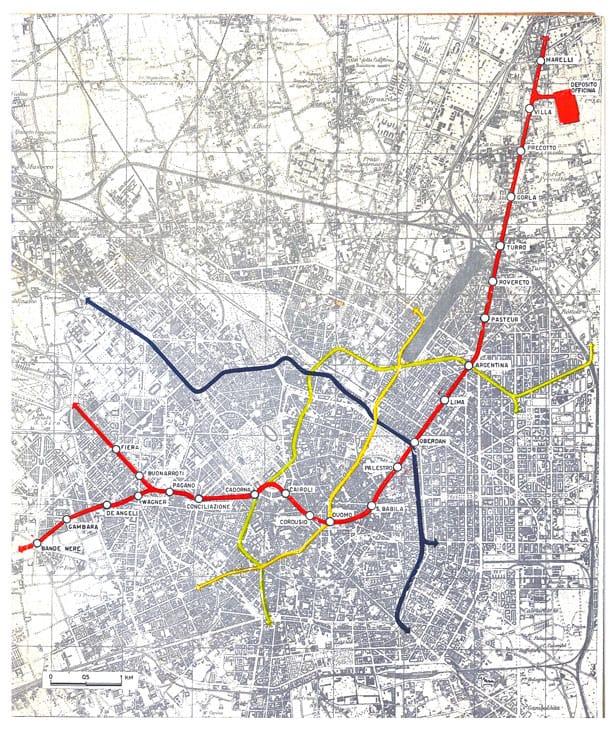 La rete nel 1958