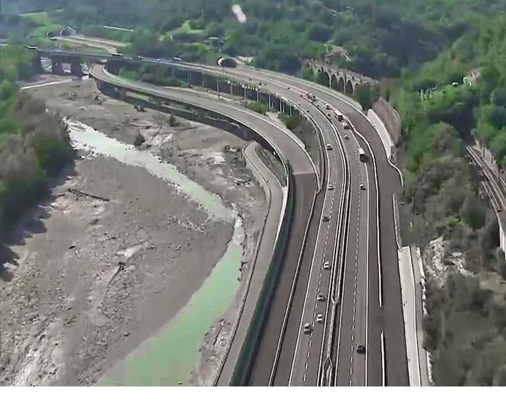 L'inizio della A1 var in località La Quercia