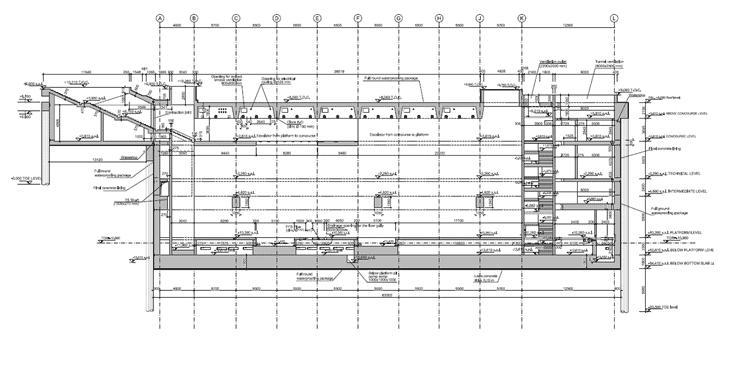 La sezione longitudinale