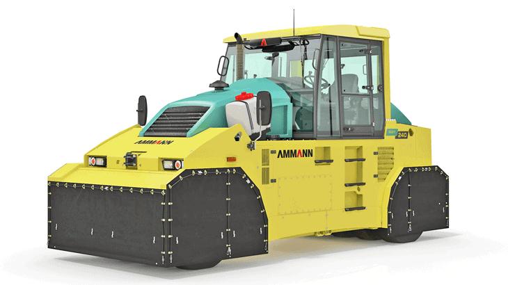 Il pneumatic roller ART 240 T4f