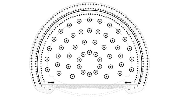 La sezione tipo C2p