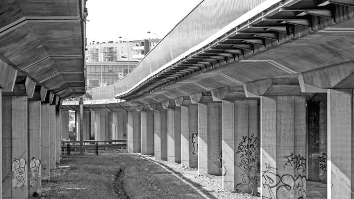 Il viadotto dei Parchi di Silvano Zorzi