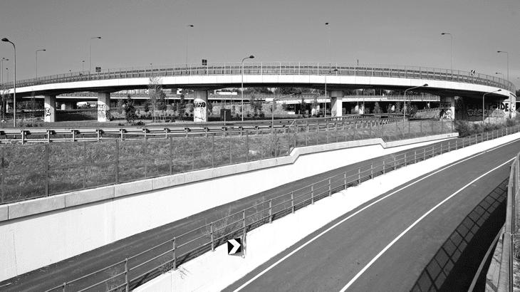 Il viadotto Rampa D aperto al traffico