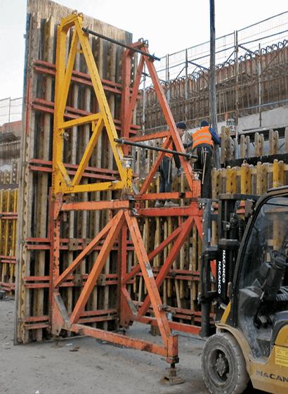 Le fasi di costruzione dei gusci in c.a. delle Rampe A e B