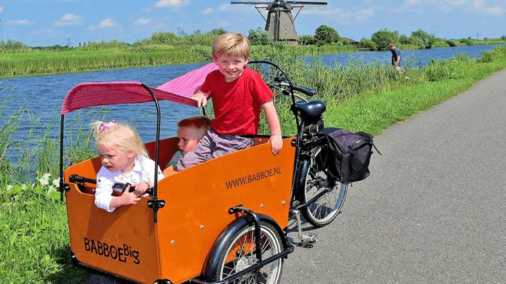Cargo bike per bambini