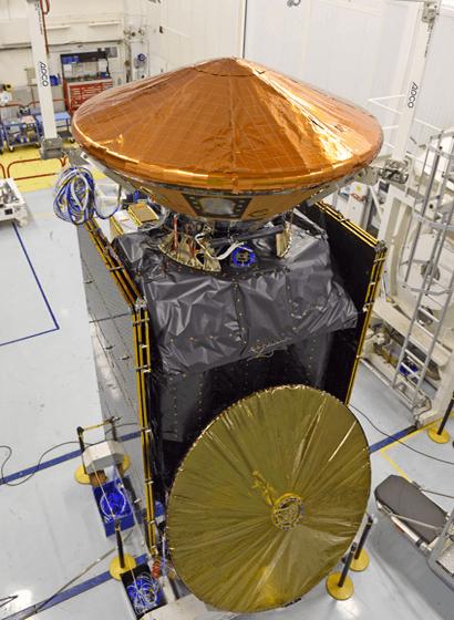 La sonda di ExoMars 2016 prima della partenza