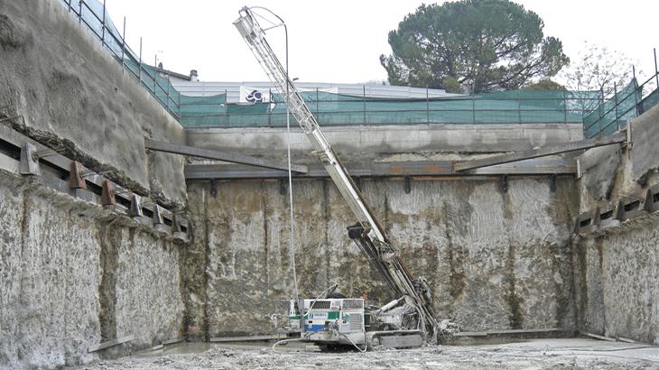Lo scavo della galleria artificiale Nord