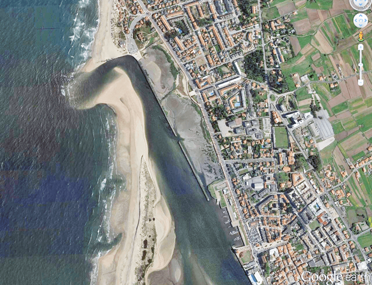 La spiaggia di Ofir