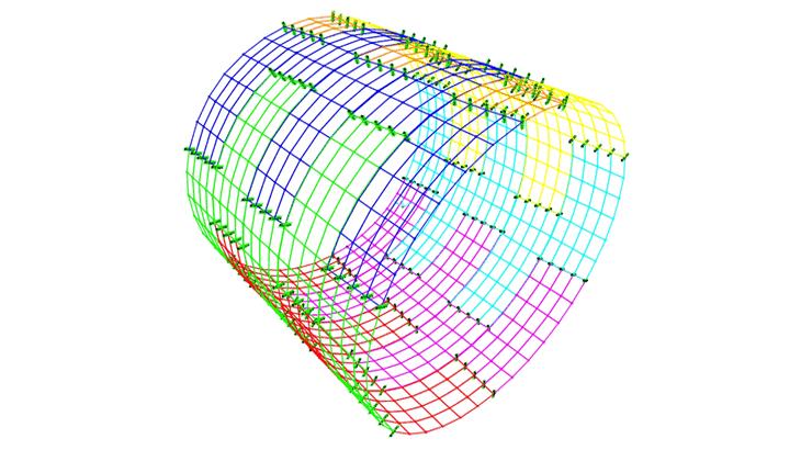Un modello Shell di anelli multipli