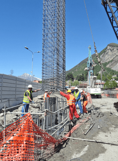La costruzione dei diaframmi
