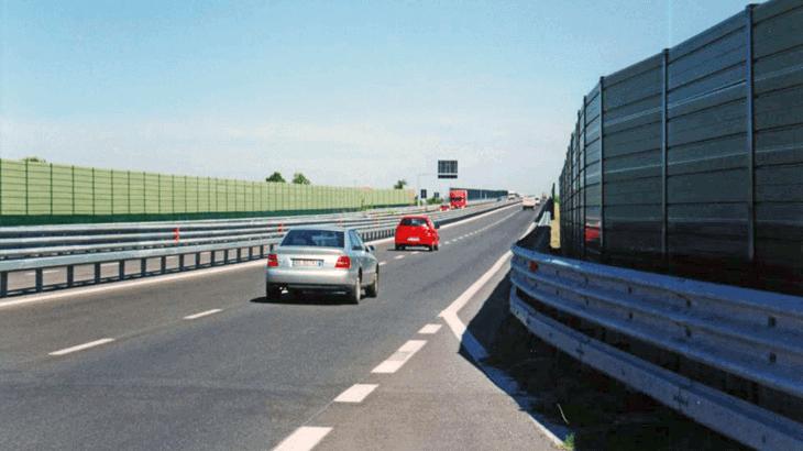 Le barriere antirumore lungo la secante di Cesena