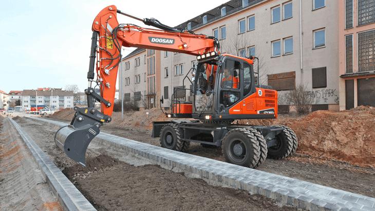 Il nuovo escavatore Doosan