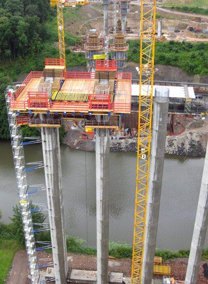 La preparazione del fondo della struttura