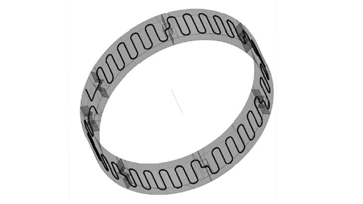 L'anello di rivestimento con configurazione nota