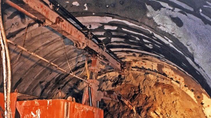 Il fronte di scavo
