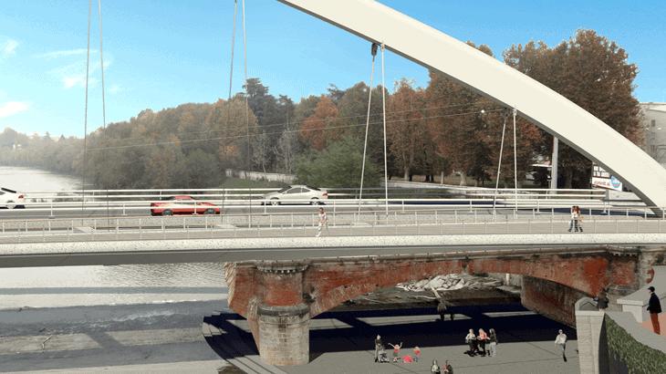 Il render del progetto definitivo lato Alessandria