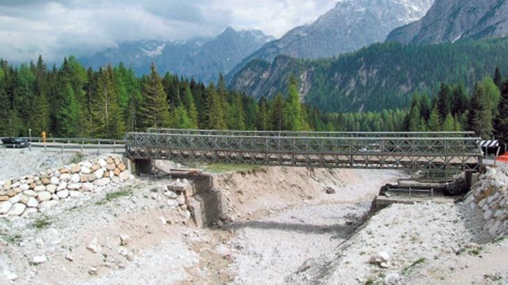 Il ponte provvisorio