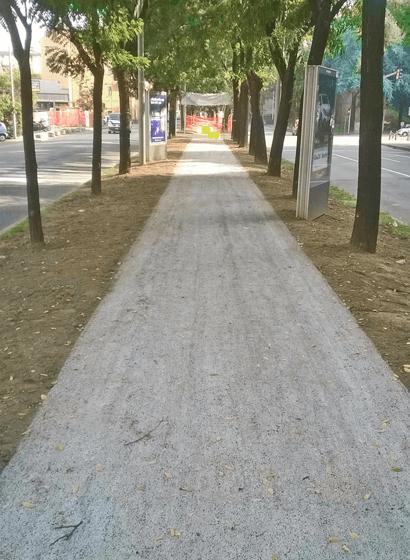 L'i.idro DRAIN sulla tangenziale delle biciclette a Bologna