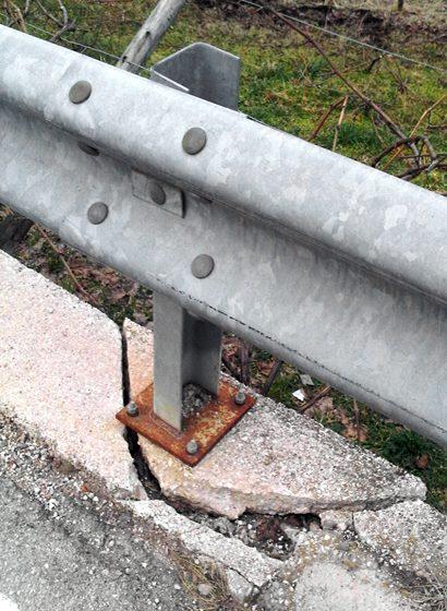 Esempi di errata installazione: un ancoraggio sbagliato
