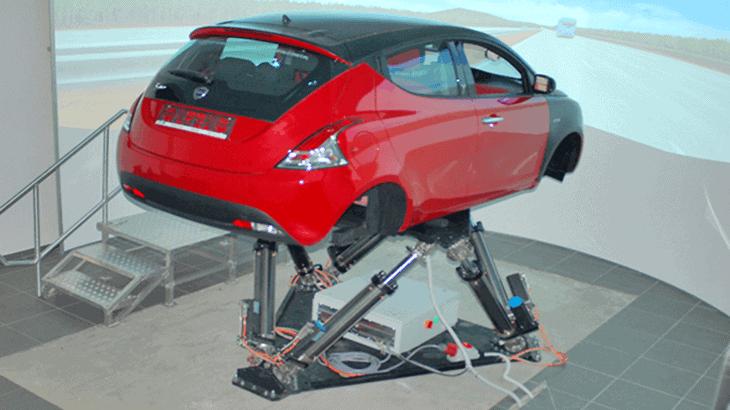 Il simulatore di guida LaSIS