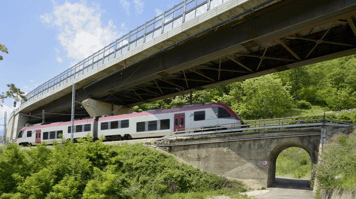 Il viadotto 5 a lavori ultimati