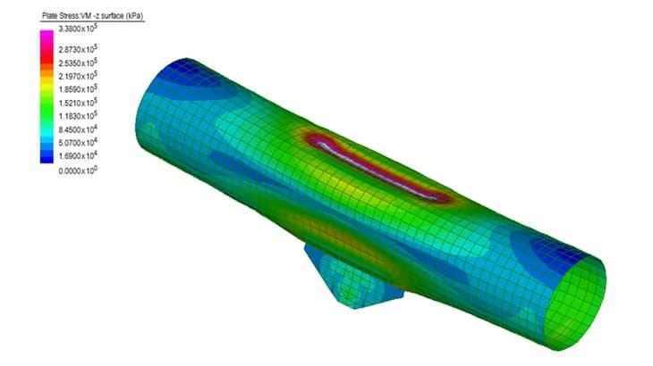 I modelli locali per lo studio dei nodi arco-catena e arco-pendino