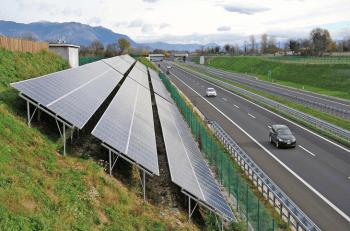 Una rete autostradale ecosostenibile