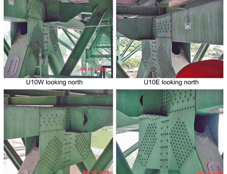 Il nodo U10W scattate durante le ispezioni