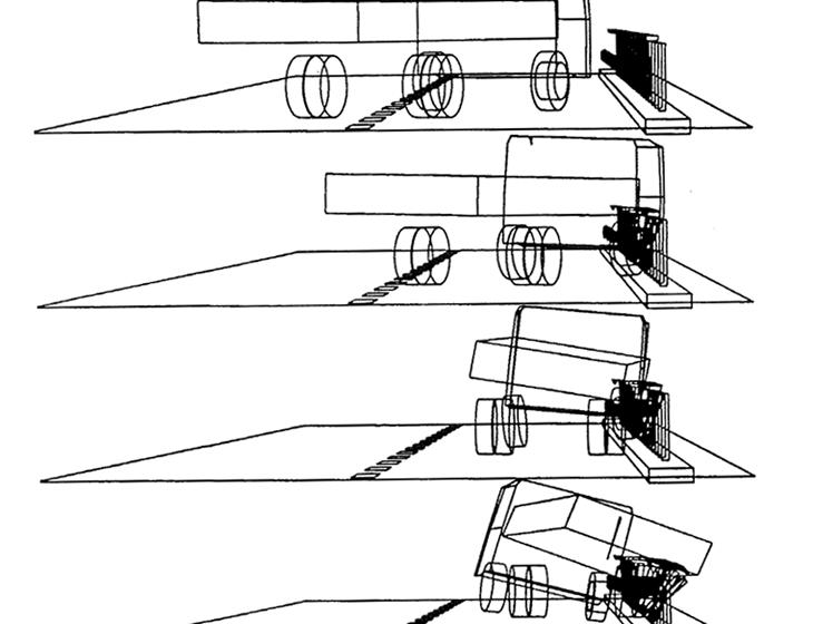 Immagini eseguite con il codice multi-body Vedyac
