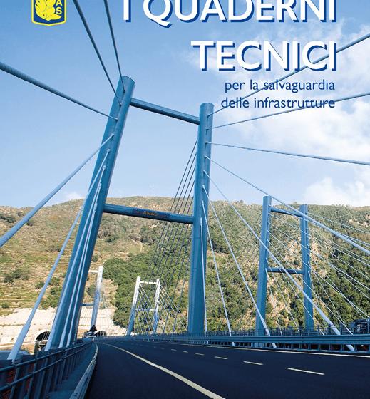 La prima copertina dei Quaderni Tecnici ANAS