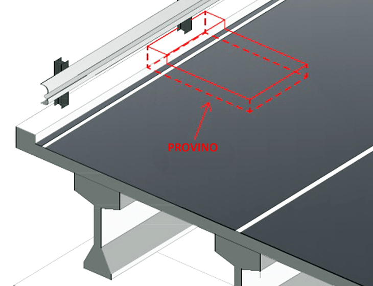 La modellazione di un cordolo in FRC