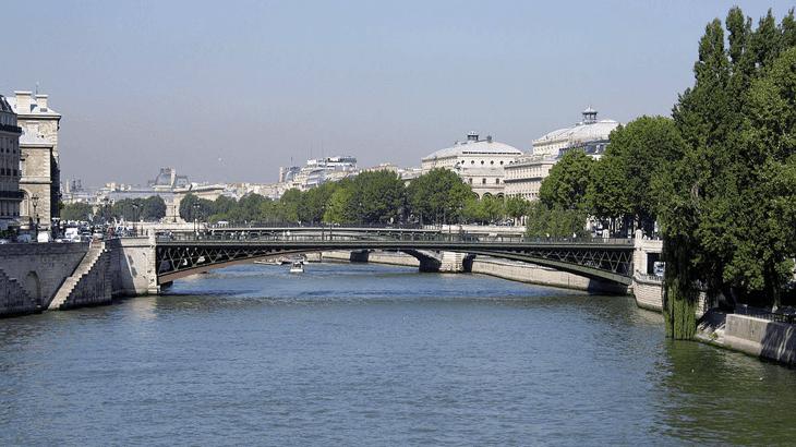 Il ponte d'Arcole a Parigi
